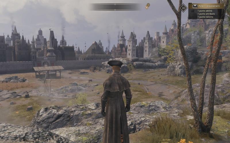 Panorama di città da GreedFall