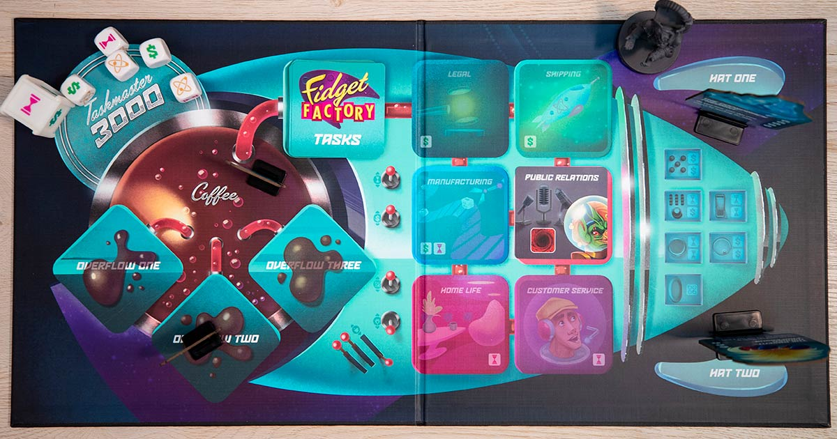 player fidget factory tabellone
