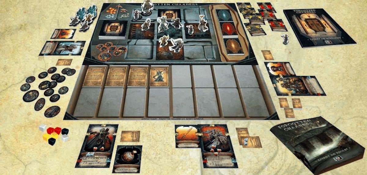 Forgotten Chambers: tabellone