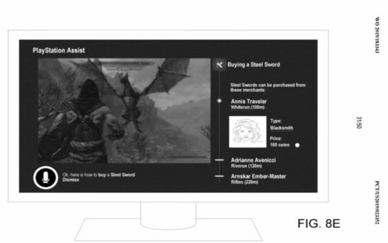 Una delle immagini esplicative del funzionamento di PlayStation Assist, inserite all'interno della documentazione del prototipo.