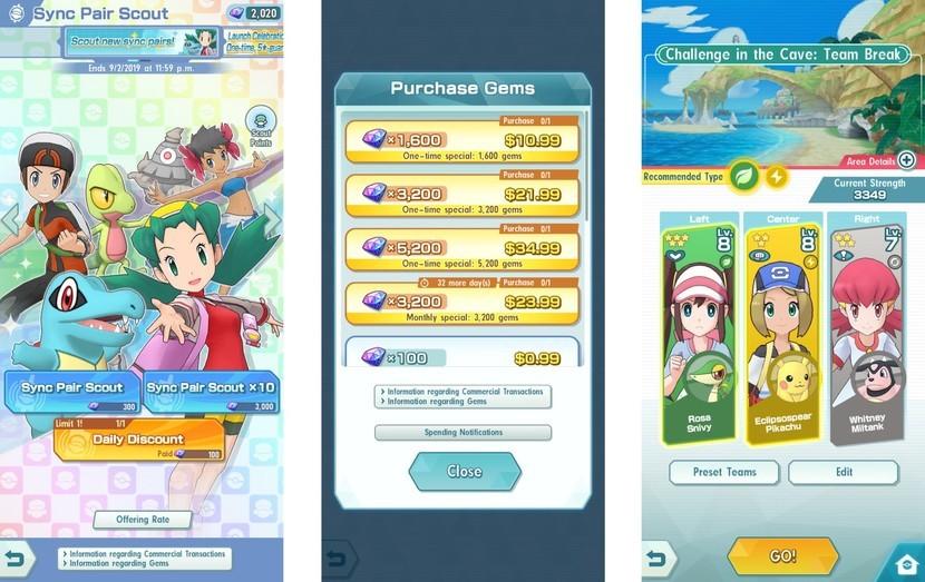 Pokemon Masters come ottenere gemme gratis