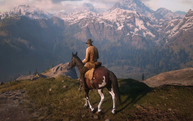 Una screen da Red Dead Redemption 2
