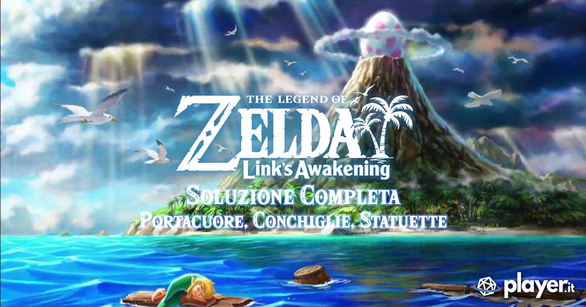Soluzione completa di the Legend of Zelda Link's awakening