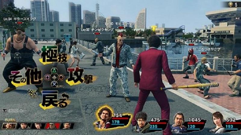 yakuza 7 combat system