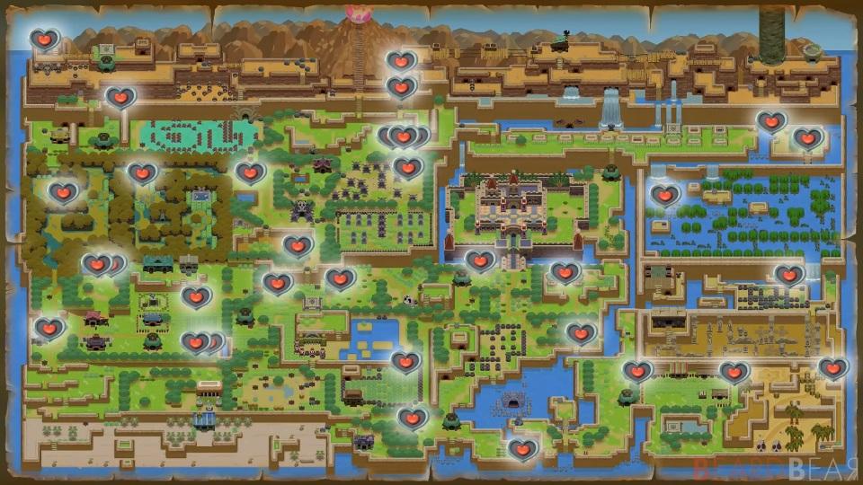 Link's Awakening: dove trovare tutti i frammenti di cuore su Nintendo Switch