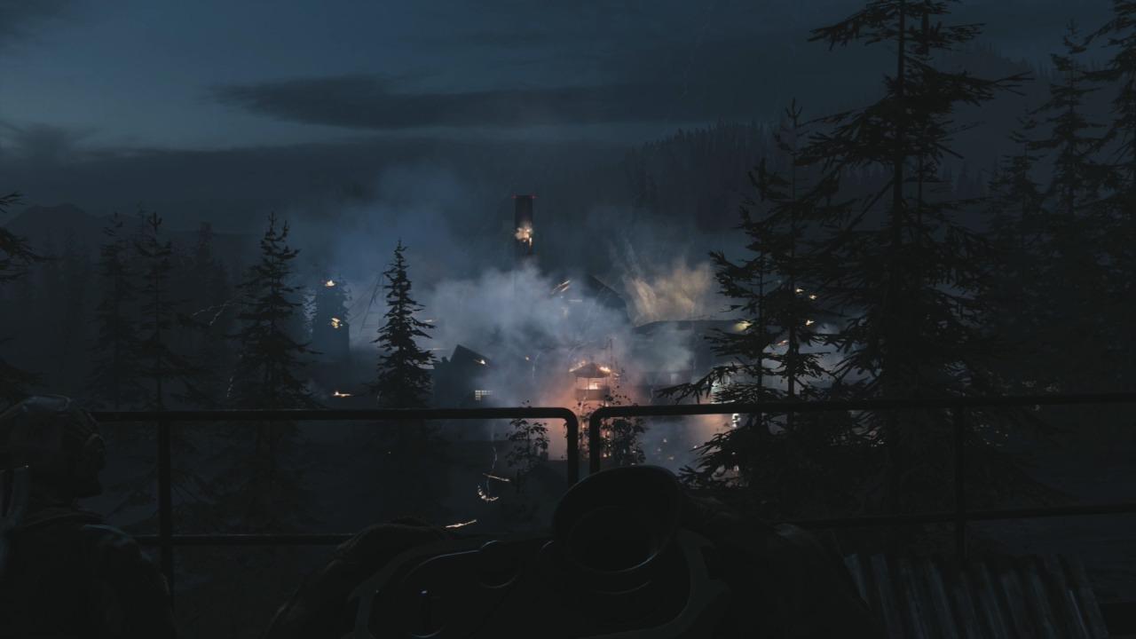 Call of Duty Modern Warfare esplosione
