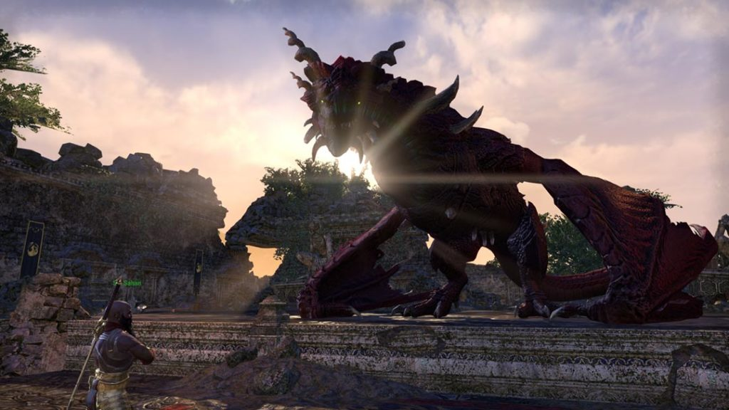 Conversazioni con i draghi in The Elder Scrolls Dragonhold