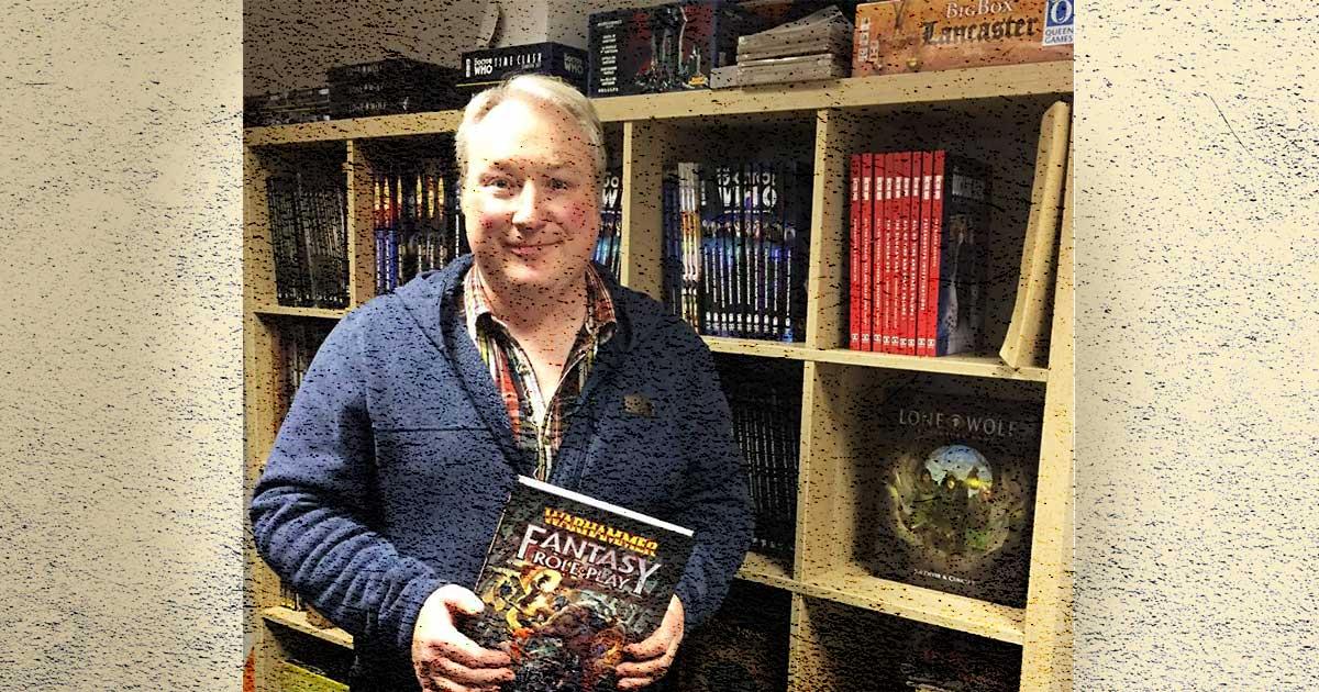 Dominic McDodwall warhammer fantasy