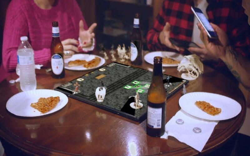 Una fotografia ritraente un prototipo del Gameboard-1