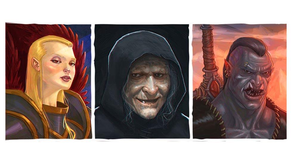 Alcuni dei villain dell'ambientazione di Corpus Malicious