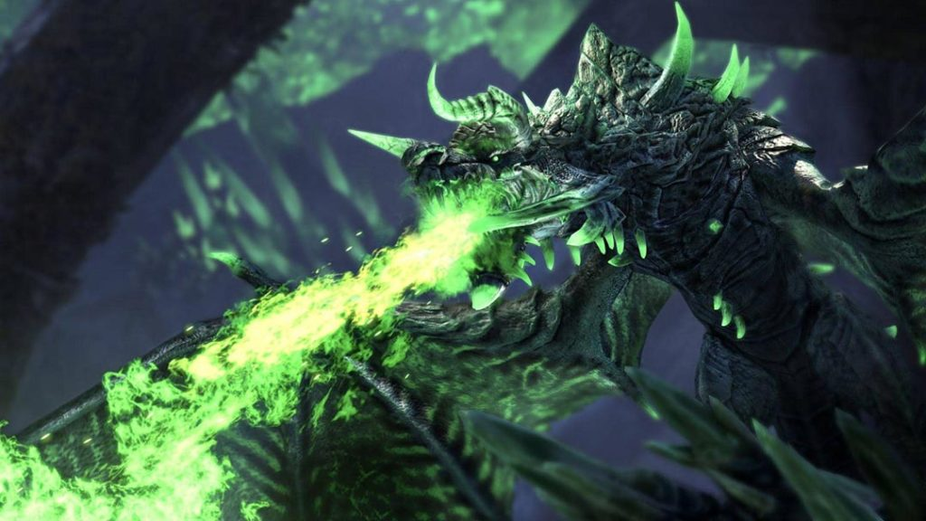 Kaalgrontiid, il drago negromante di The Elder Scrolls Elsweyr e Dragonhold