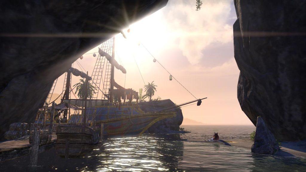 L'atmosfera caraibica di The Elder Scrolls Dragonhold