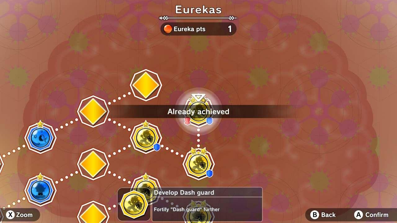 Little Town Hero Eurekas - skill tree