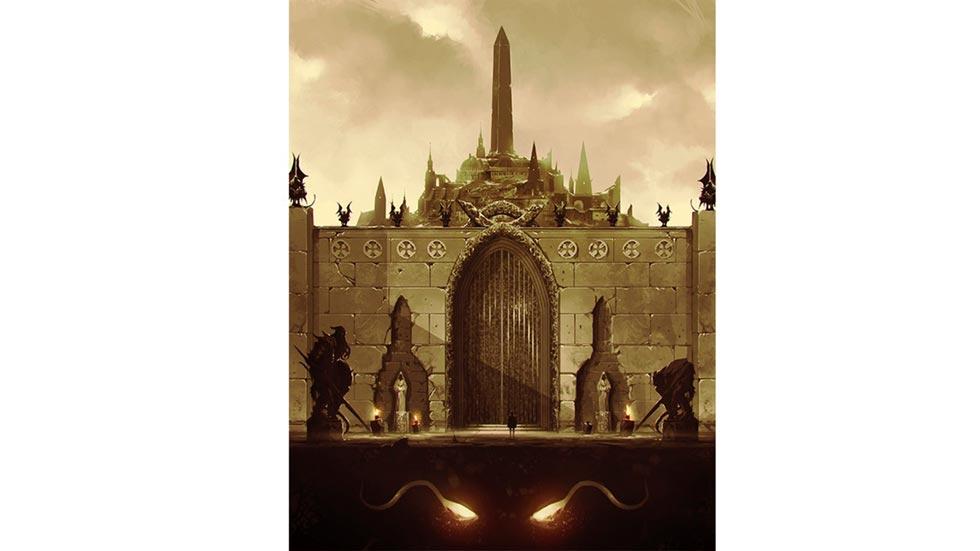 Mindabar, una città introdotta dall'ambientazione Corpus Malicious per D&D 5E
