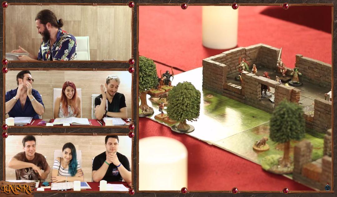 Screenshot che mostra il combattimento dell'Episodio 6 di Luxastra 2