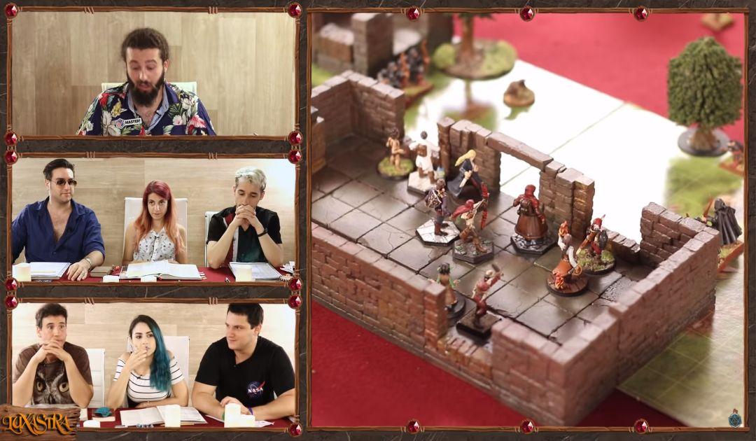 Screenshot del combattimento nel Sesto Episodio di Luxastra 2