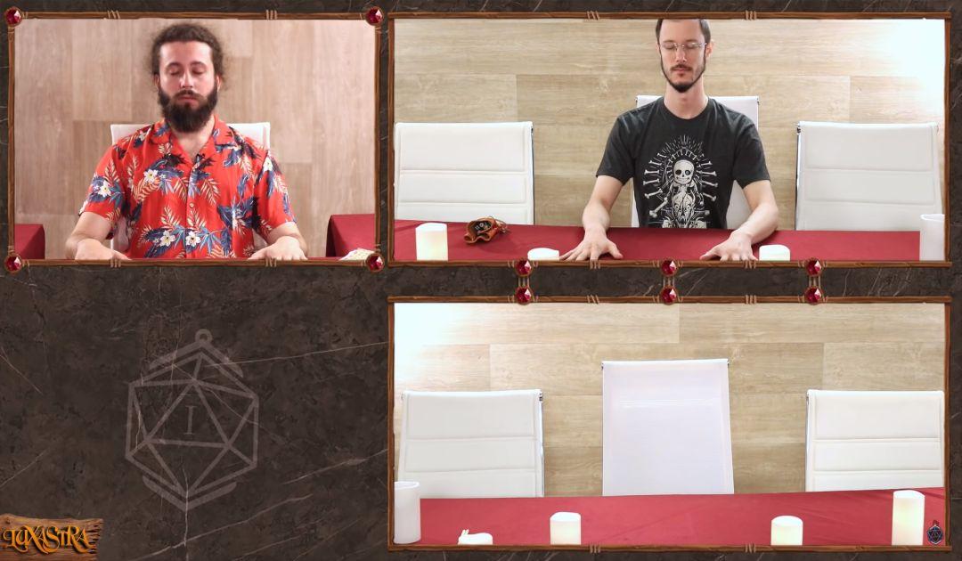 Screenshot dalla Puntata Sei di Luxastra 2 che mostra Michele Poggi