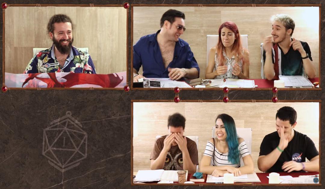 Screenshot dal Sesto Episodio di Luxastra 2