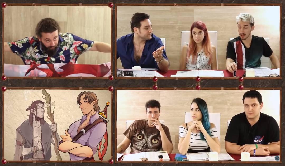 Screenshot del druido Akazim nell'episodio 7 di Luxastra