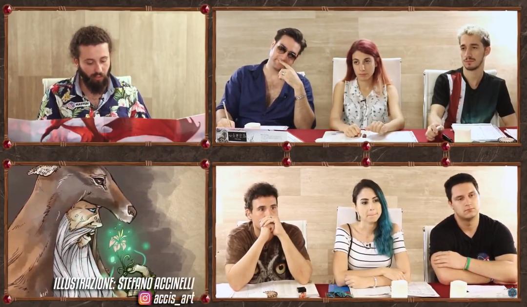 Screenshot del Druido nell'episodio 7 di Luxastra
