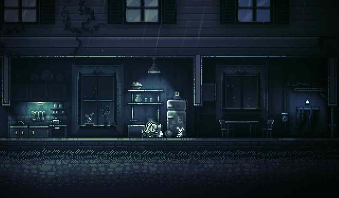 Screenshot della bambina protagonista di INMOST