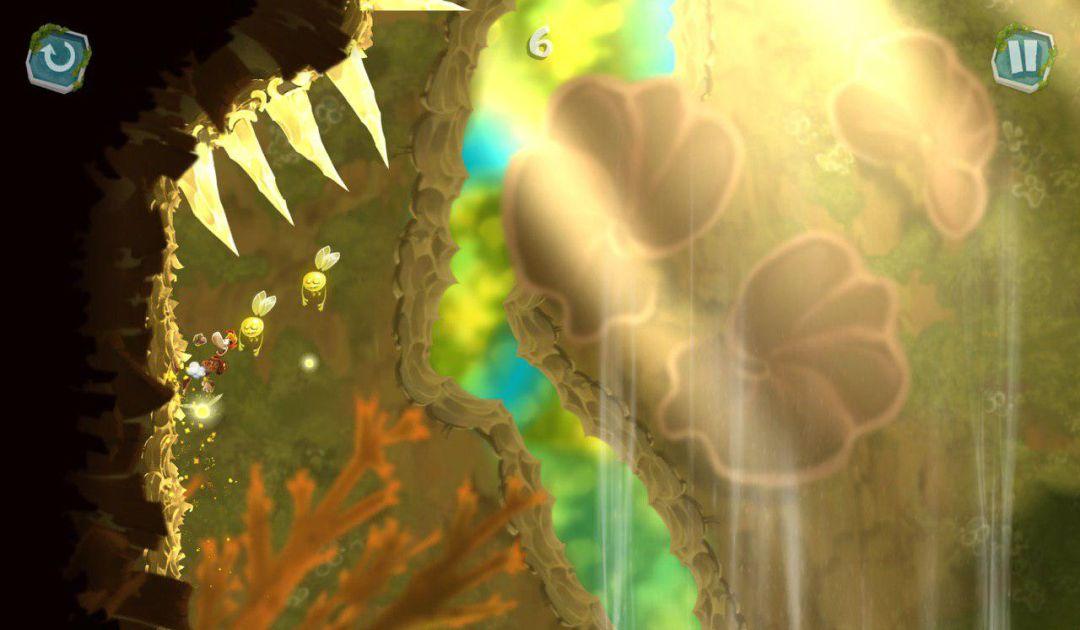 Screenshot da Rayman Mini