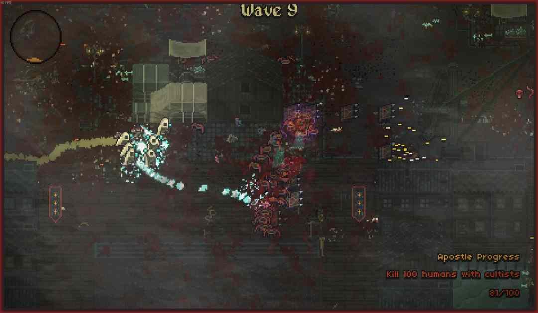 Screenshot della modalità Arena di Sea Salt