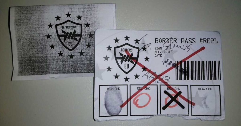 The Border Larp Border Pass