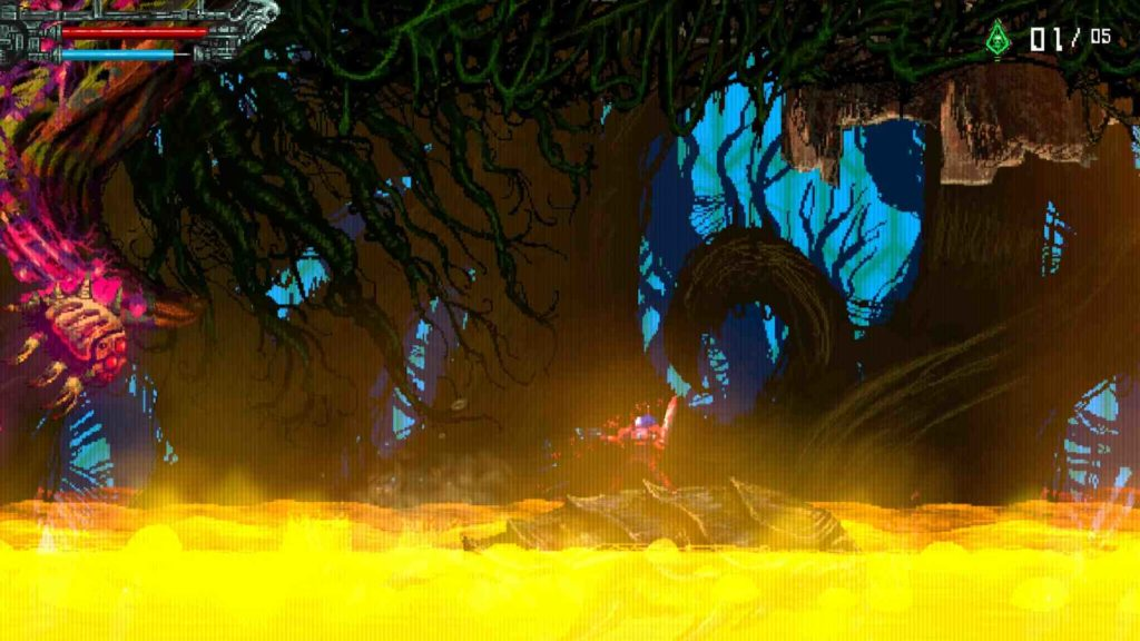 Valfaris gameplay