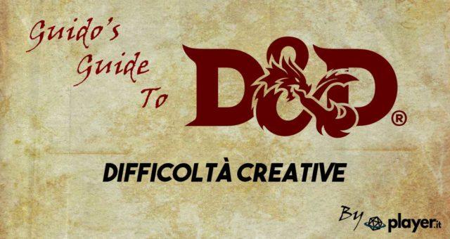 dnd Difficoltà Creative