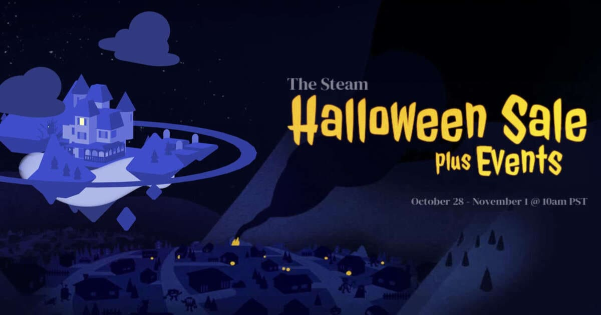 Copertina speciale sconti Steam Halloween 2019