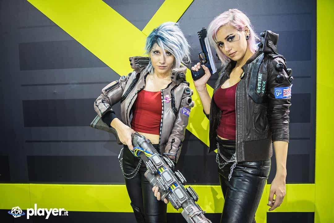 cosplayer cyberpunk mgw 2019