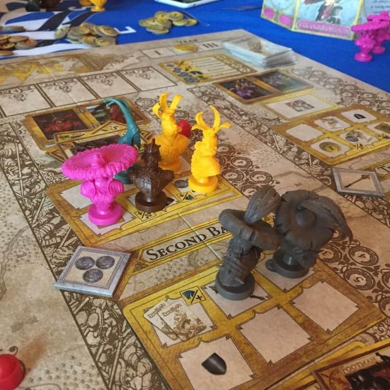 componenti dogs of war di Paolo Mori docente del corso di board game design