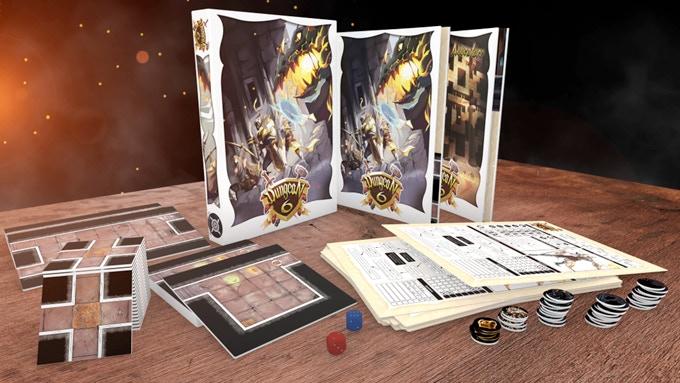 I contenuti dell'edizione kickstarter di dungeon 6
