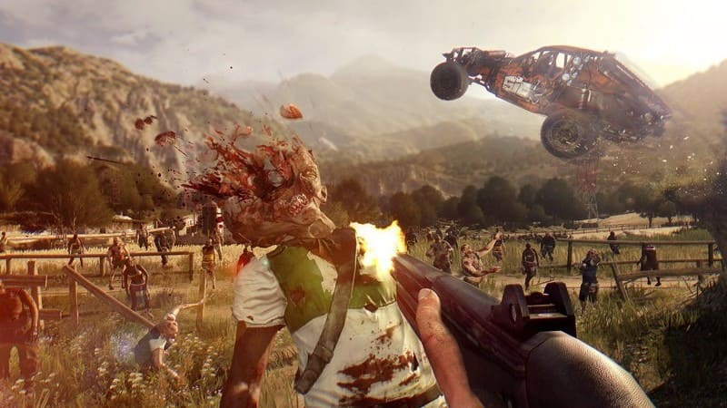 Una screen da Dying Light