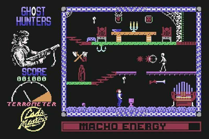 ghost hunters, gioco anni 80