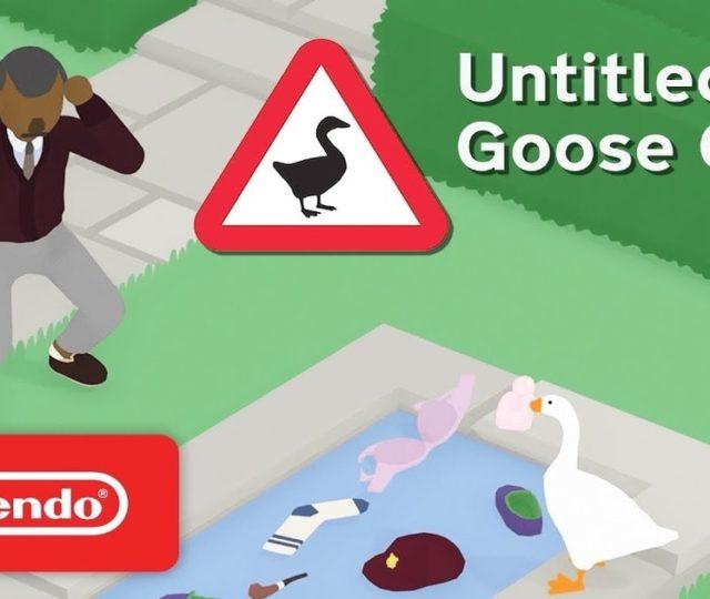 untitled goose game è il gioco digitale più venduto su nintendo switch