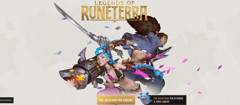 come riscattare legends of runeterra