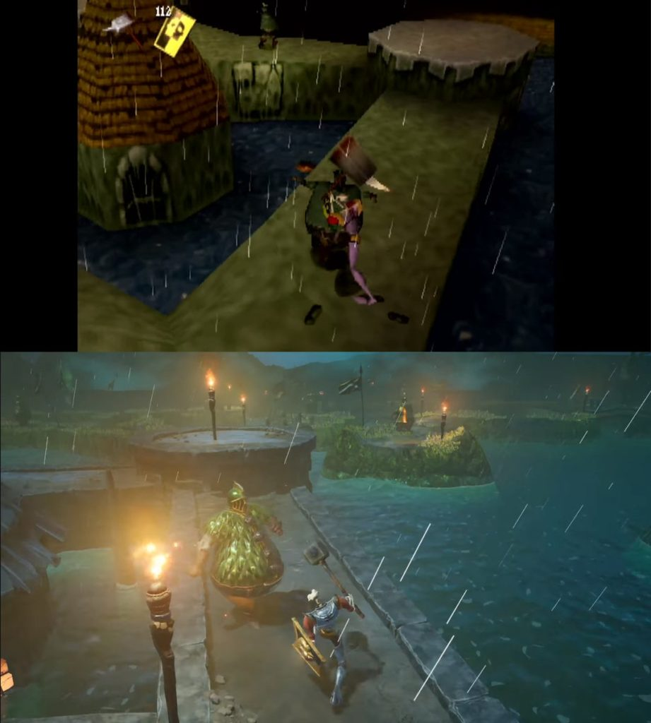medievil the lake