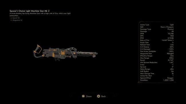 mitragliatrice leggera mk2