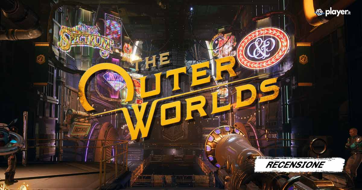recensione the outer worlds