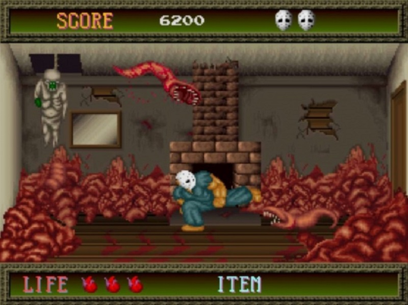 splatterhouse 1988