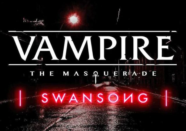 Copertina annuncio Vampire: The Masquerade-Swansong