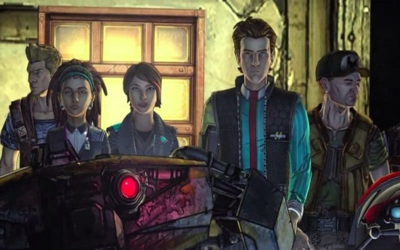 Una screen da Tales from the Borderlands