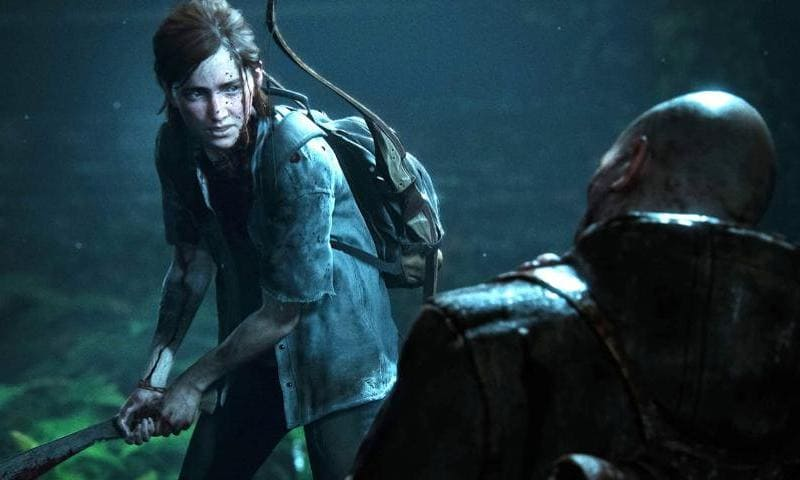 Una screen da uno dei trailer di TLOU2