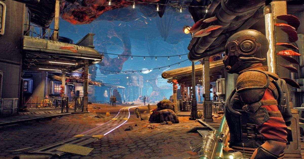 usare il velo olografico in the outer worlds