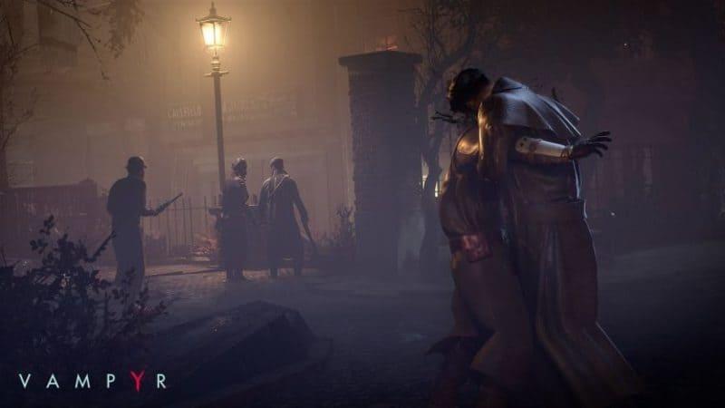 Una bella immagine promozionale di Vampyr