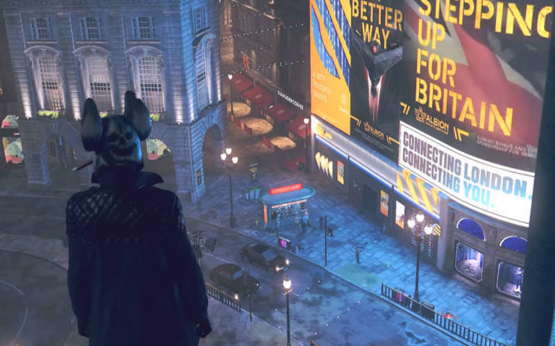 Una screen da Watch Dogs Legion