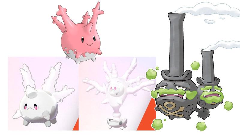 Pokémon Spada, Pokémon Scudo, Recensione, Forme Gigamax , Forme Dynamax, Terre Selvagge, Raid Dynamax, Dandel, Weezing di Galar, Corsola di Galar, Ottava Generazione, come fare raid, VGC, pokèmon competitivo