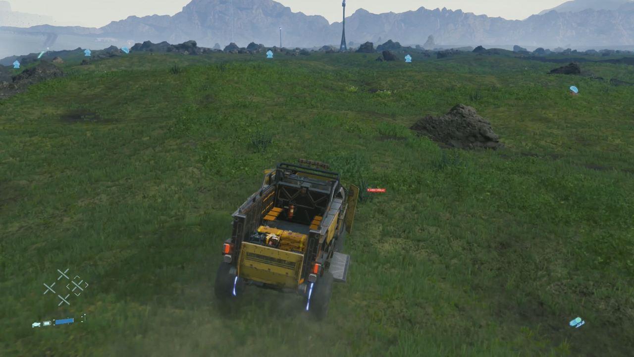 Death Stranding carro